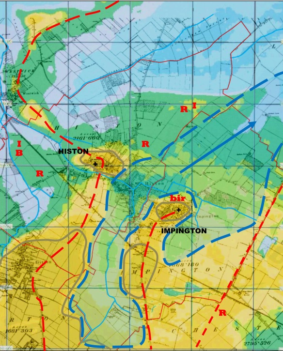 LIDAR and Ordnance Survey map overlay